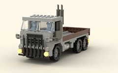 Cab Over Truck (tyaak (retired)) Tags: lego truck moc tyaak military legos toy toys model box over