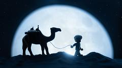 Arabian Nights (thereeljames) Tags: lego legophotography toyphotography toys toyphotographers moon canon