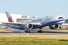 CYVR - China Airlines A350-900 B-18908 (CKwok Photography) Tags: yvr cyvr chinaairlines a350 b18908