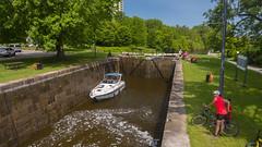 Rideau Canal at Hog'sback Park (lezumbalaberenjena) Tags: rideau canal locks exclusas hogs hogsback hog back park