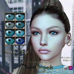 .:: StunnerOriginals ::. Eyes Blue Sky - Fatpack (Stunner Originals) Tags: eyes catwa omega eyesmesh store