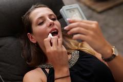 PhoneMakeUp (Lothbrok'sYen) Tags: lothbroksyen makeup face classy diva beautiful beauty lips lipstick phone mirror mirrorapp