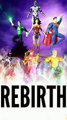 JUSTICE LEAGUE (custombase) Tags: dc universe rebirth figures justiceleague batman theflash aquaman greenlantern wonderwoman superman cyborg toyphotography