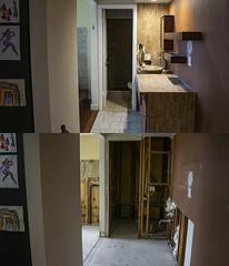 Master Bath Before And After (evaxebra) Tags: home house remodeling master bath repair remodel demolition demo bathroom before after