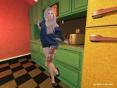 My colored kitchen ... (Carol`s Blog) Tags: kitchen catwa heels blond secondlife