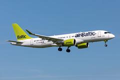 YL-AAR Air Baltic Airbus A220-300 (buchroeder.paul) Tags: eham ams amsterdam airport schiphol the netherlands europe final ylaar air baltic airbus a220300
