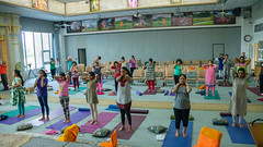 DAY 4 - SUMMER 2019 FAMILY CAMP (JKP RMD) Tags: nancy familycamp2019 sadhanashivir2019 yoga