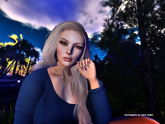 Sun comes fast (Carol`s Blog) Tags: nails forest sky catwa omega blond maitreya makeup