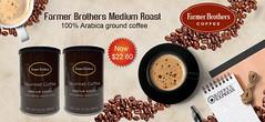Farmer Brothers Medium Roast Ground Coffee Cans (KoffeeExpress) Tags: farmer brothers medium roast ground coffee cans