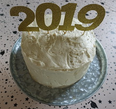 2019 Graduation Cake (Heath & the B.L.T. boys) Tags: dessert cake organic homemade graduation party numbers galvanized metal cakepedestal