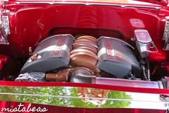 Corvette Engine Inside Chevy Bel Air (mistabeas2012) Tags: chevrolet bel air