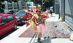 Front Street (neilsonabeel) Tags: nikonfm2 nikon nikkor film analogue brooklyn newyorkcity mermaidparade