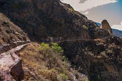 Inca Road Ollantaytambo (shapeshift) Tags: 50mm d700 cusco cuzco davidpham davidphamsf inca incatrail incaempire incaroad landscape mountains nikon ollantaytambo peru road ruins shapeshift southamerica theamericas travel