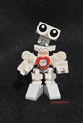Huwbot with feet (Orthobotrex) Tags: lego® moc huwbot challenge contest bricksetcompetitions white droid bloke assistant bot