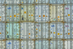 24 shipping containers (Jan van der Wolf) Tags: map193529v composition herhaling repetition shippingcontainers