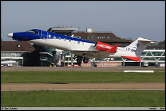 "LEARJET45 XR ""European Air Ambulance"" LX-ONE 45-342 Entzheim avril 2019 (paulschaller67) Tags: learjet45 xr europeanairambulance lxone 45342 entzheim avril 2019"