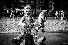 Oor Wullie (Cycling-Road-Hog) Tags: blackwhite candid canoneos750d citylife colour efs24mmf28stm edinburgh edinburghstreetphotography monochrome people places scotland street streetphotography streetportrait urban