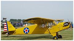 "Piper J-3 Cub ""Spirit of Lewis"" (F-GHLQ) (Aerofossile2012) Tags: airshow meeting aircraft avion aviation 2018 piper j3 cub ""spirit lewis"" fghlq"