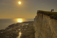 Livin' on the edge (Seven Sisters, East Sussex United Kingdom) (AndreaPucci) Tags: sevensisters eastsussex uk white cliffs andreapucci