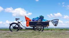WorkCycles-bakfiets-Gemeente-Kapelle-sky (@WorkCycles) Tags: bakfiets bakfietsen bicycle bike cargobike classic dutch gemeente kapelle marina transportfiets workbike workcycles zeeland