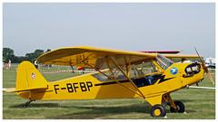 Piper Cub J-3 C65 - F-BFBP (Aerofossile2012) Tags: airshow meeting aircraft avion aviation 2018 piper cub j3 c65 fbfbp