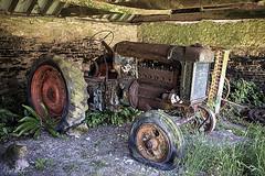 TYNEHAM VILLAGE 1 (Nigel Bewley) Tags: tyneham tynehamvillage dorset england uk purbeck ghostvillage lostvillage abandoned derelict nigelbewley photologo appicoftheweek june june2019 barn farm tractor fordson agriculture thomashardy