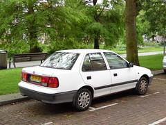 1994 Suzuki Swift 1.3 GL Sedan (brizeehenri) Tags: suzuki swift 1994 jjxh80 rotterdam