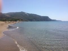 Kalamaki Beach on Zakynthos Island, Greece (j.a.sanderson) Tags: sea sky holiday beach photo greece zakynthos ioniansea ionian kalamaki zante