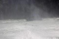 Unter dem Rheinfall - Under the Rhine Falls (heinrich.hehl) Tags: wasser ausflugsboot fluss rhein rheinfall gischt schweiz schaffhausen switzerland foam rhinefalls rhineriver river tourboat water