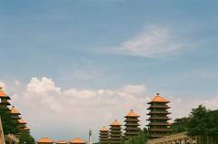 Pagoda in Taiwan (Quan Camer) Tags: pagoda pagodataiwan taipei kaoshiung film film35mm film35 analog analogfilm analogphoto analogphotographer quandang quandangfilm vietnamfilm filmisnotdead