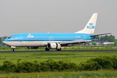 PH-BDT (PlanePixNase) Tags: amsterdam ams eham schiphol planespotting airport aircraft klm boeing 737 737400 b734