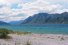 Lake Hawea (angelgear) Tags: film kodak portra iso100 newzealand southisland