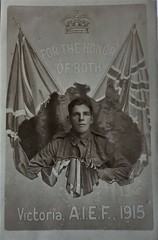Possibly Patrick Devirs  #3292 (Aussie~mobs) Tags: victoria australia patrickdevirs soldier portrait army military vintage ww1 1914 australianimperialexpeditionaryforce