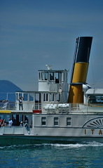 Italie II bateau du lac Léman (pontfire) Tags: swiss svizzera schweiz confoederatio helvetica suisse lac léman lake bateau boat ship vessel croisière cruising la italie