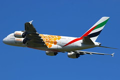 """Emirates Airbus A380-861 """"Expo 2020"""" A6-EOB (Manuel Negrerie) Tags: emirates airbus a380861 expo2020 a6eob airlines uae dubai spotting avgeeks skies technology a380 livery exposition design travel flying flight plane widebody scheme engines ge cfm trent canon ek"""