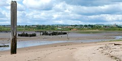 hulks in the mud (Mr Ian Lamb 2) Tags: hulks wreck ribs mud mudflats river coquet amble warkworth northumberland boats rural coast coastal historic sand beach