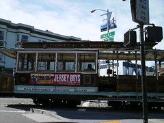Img0606 (rugby#9) Tags: powellhydestns sanfranciscomunicipalrailway sanfrancisco trolleycar us america vehicle sky cloud buildings road sf usa california