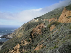Img0604 (rugby#9) Tags: cloud bluesky rock rocks coastline coast california usa us america sky water sea ocean pacificocean hill hills
