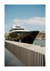 FILM - Wealth (fishyfish_arcade) Tags: 35mm analogphotography barcelona canonsureshotz135 filmphotography filmisnotdead istillshootfilm kodak portra400 analogcamera compact film yacht