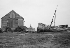 thornham (mdpF2) Tags: leica m2 ultron 352 delta 100 ilford film thornham historic harbour norfolk coast