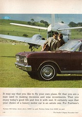 1967 ZA Fairlane By Ford Page 1 Aussie Original Magazine Advertisement (Darren Marlow) Tags: 1 6 7 9 19 67 1967 z a za f ford fairlane s sedan c car cool collectible collectors classic automobile v vehicle aussie australian australia 60s