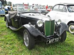 950 MG Midget TD (Mod) (1951) (robertknight16) Tags: mg british 1950s sportscar midget td nuffield lupinfarm lupinfarm2015 wff713