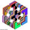 The Plane Traveller Hexacube (tiago_hands) Tags: mathematicalart isometricart isometricgeometry geometricart geometricdesign hexacube hexagonal hexagons hexagram mathematicalcreativity tiagohands