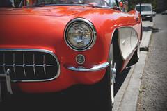 Corvette C1 (Miguel Ángel Prieto Ciudad) Tags: chevrolet corvette classic auto motor automotive automobile car retro street clouds usa sonyalpha alpha3000 mirrorless emount chanoe