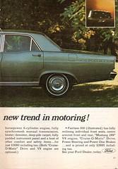 1967 ZA Fairlane By Ford Page 2 Aussie Original Magazine Advertisement (Darren Marlow) Tags: 1 6 7 9 19 67 1967 z a za f ford fairlane s sedan c car cool collectible collectors classic automobile v vehicle aussie australian australia 60s