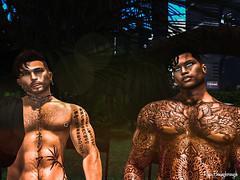 My friend Rafa / Mon ami Rafa / Mi amigo Rafa (Retogay (SL)) Tags: gay mesh men male signature gianni secondlife catwa victor piercing modulus tattoo necklace black belleza