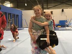 Teresa and Tara (yewenyi) Tags: australia victoria cranbourne onesie gymnast gymnastics teresa tara