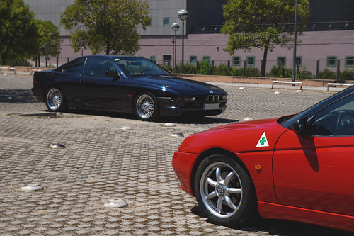 BMw 850 (E31) & Alfa Romeo Spider