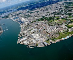 RX301725 (gosport_flyer) Tags: aerial city dockyard hmnb royal navy torpoint ferry hamoaze royalwilliam