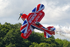 "2019 ""Wings & Wheels"" (Ian Macfadyen) Tags: aircraft warbirds raf dunsfold aerobatics airdisplay charityevent wingswheels flyingdisplay helpforheroes brooklandstrust royalairforce pitss2srichardgoodwin"